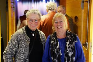 Birgitta Östling och Kerstin Fogelberg tycker om Gävle Big Band, som de har hört förut.