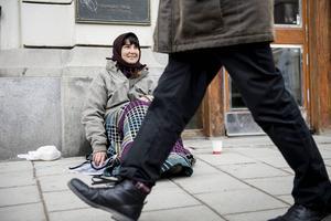Ångepolitikern Erik Thunefors vill förbjuda tiggeri i hela landet