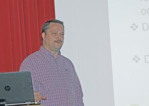 Kid Berglund, kommunansvarig för upphandlingar i Säter och Hedemora,