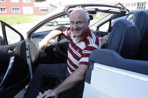 Per-Olov Erhardsson är bilhandlare i Ljusdal. Men han är ingen båtmänniska, säger han.