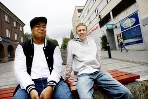 Bengt Sombun, 18 år och Viktor Grinde, 21 år från Östersund