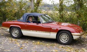 Alfa Romeo 1600 GTJ representerar 1970-talet i Olle Odsells samling.