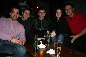 Tabazco. Philip, Johannes, Josand, Maria och Georg