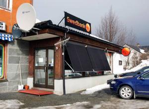 Företagarna i Gäddede vill behålla Swedbank på orten.