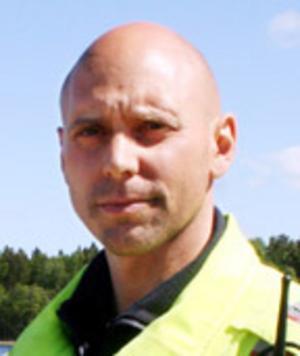 Niklas Hammarlund, räddningstjänstledare.