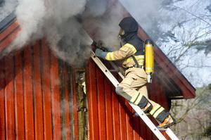 En brand i Myckling i Arnäsvall var den tredje största i Örnsköldsvik under året. Räddningstjänsten arbetade i dryga nio timmar med branden den 27 april.