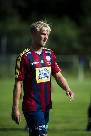 Selångers målskytt, Oliver Widahl.