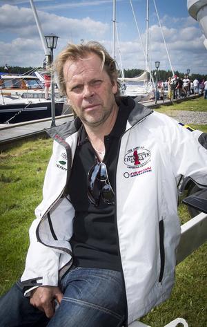 Lars Karlsson, en av arrangörerna av Poker Runn.