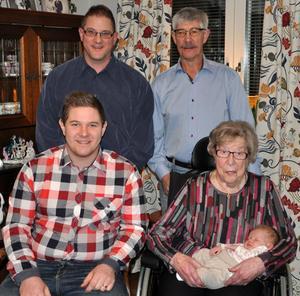 Fem generationer samlade i Kramfors.
