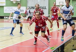 Andreas Lindqvist i full fart.