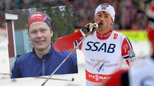 Axel Ekström och Petter Northug.