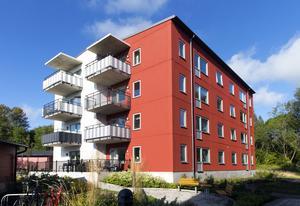 Det var den här typen av modulhus som Migrationsverket ville bygga i Gävle.