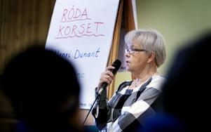 Anita Nordqvist, Röda Korset, berättade att det kommer ta minst fem år innan alla fått lämna tältlägren på Haiti efter den svåra jordbävningen för drygt två år sedan.