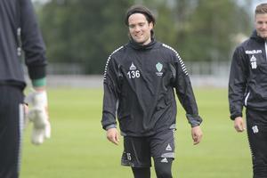 Robbin Sellin tränade med IK Brage i somras.