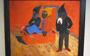 Målningen Uppväckande som lånats från Moderna museet.