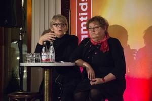 Kommunalråden Margareta Rönngren, Umeå, och Yvonne Stålnacke, Luleå.