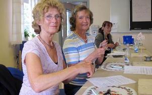 Från Stockholm har Kajsa Lena Henningsson och Monica Åberg rest för att lära luffarkonst.