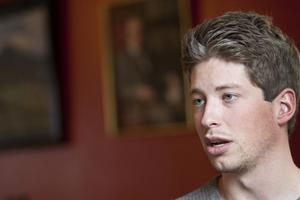 Alexander Engelmark är förste kurator eller 1 Q på nationen.