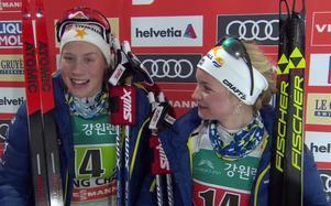 Maria Nordström och Elin Mohlin.