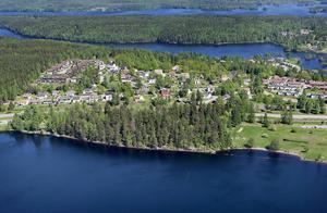 Skuthamnsområdet sett från ovan. Foto: Peter Ohlsson/Arkiv