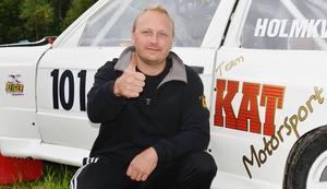 Jimmy Holmkvist tog SM-guld i Klass 1, trots motorhaveri i Tjust.