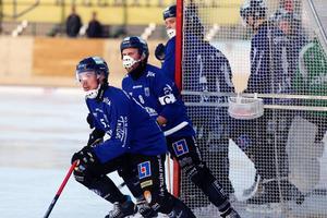 Daniel Bärneskär närmast i bild.