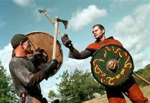 Vikingarna var krigare.