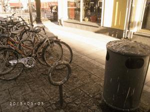 Så här ser det ut på Kungsgatan i Örebro.