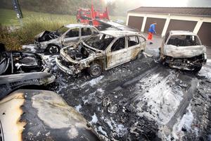 Västerås är den stad i Sverige där flest bilar sätts i brand per invånare.