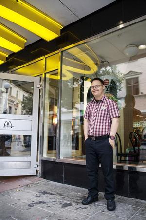 McDonalds-Lasse är populär bland gästerna.