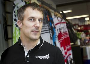 """Klokare. """"Jag lärde mig något viktigt av olyckan och nu är jag försiktigare"""", säger Magnus Larsson."""