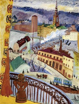 1909 reste den tjugofyraåriga Sigrid Hjertén (1885–1948) till Paris för att gå i lära hos mästaren Henri Matisse. Hon var då redan en självständig och yrkesarbetande kvinna, utbildad som textilkonstnär, men vistelsen i den franska huvudstaden kom att förändra hennes liv.