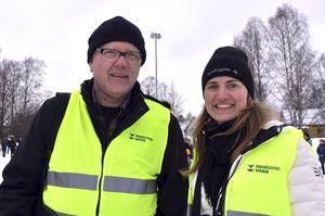 Bosse Edman och Johanna Martinell höll i trådarna för kommunens räkning.