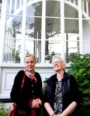 Ina Almegård och Berit Norrbelius.