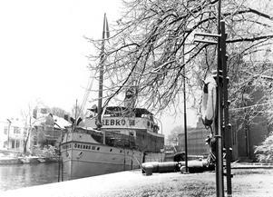 Annan vinkel från Hamnplan på 50-talet.