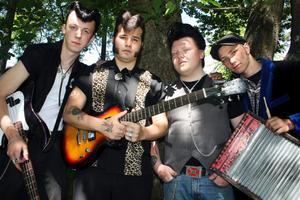 Spelar på festival. Kumlabandet The Midnight Teds är ett av de lokala band som kommer att spela i Vretstorp.
