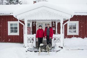 Gunilla och Totte Svensson valde att gå sin egen väg när de bosatte sig i Trönö.