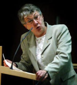 Åsa Möller, Sundsvall, gör ny politisk karriär.