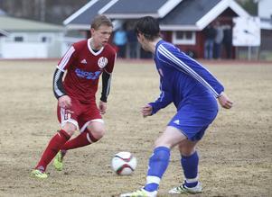 Jesper Persson gjorde ett stort jobb på mitten och han fick kröna sin insats med sitt första mål i division 4 vilket var spiken i kistan för IFK.