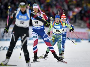 Anna Magnusson gjorde en stabil jaktstart, men utan att kunna hota åkarna framför sig. Svenskan slutade på 16:e plats.