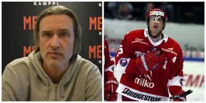 Valeri Krykov i dag och under sin första säsong i Timrå. Den vänstra tagen 2016, högra 2002.