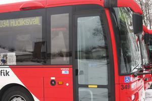 Blir det gratis att gå ombord på X - trafiks bussar berörs linjerna 29 till och med 35.