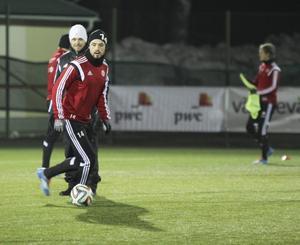 Fokus från Pelle Lööf under veckans träningar.