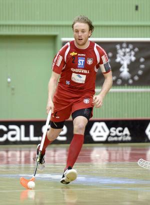 Johan Samuelsson har kontrakt på två år med Tigers Lagnau.