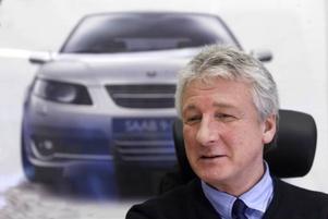 Christer Eriksson är övertygad om att det finns en framtid för Saab.