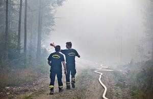 Det var otroligt många som var inblandade i räddningsarbetet.