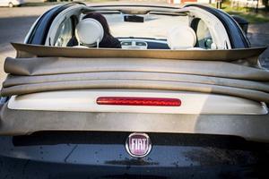Pernilla Eurenius fick ett lyckorus första gången hon provkörde sin Fiat 500 C.