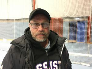 Jimmy Gunnstedt, tränare för Västerås Rönnby.