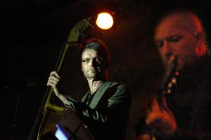 Komp. Lisa Swahn kompades bland annat av basisten Nisse Palm och gitarristen Peter Almqvist.