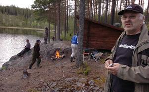 Gunnar Löfstedt från fiskevårdsföreningen är nöjd med kvällen.